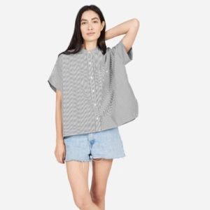 Everlane Cotton Poplin Box Shirt Size 2